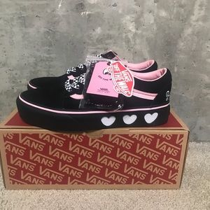 Vans Shoes - Vans X Lazy Oaf Old Skool Platforms Women s Sz. 8 f5d3eeb88